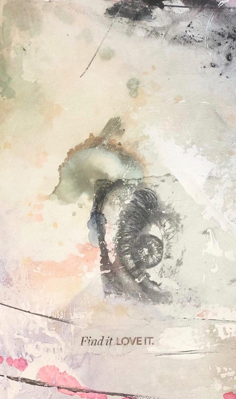 Complet Explorez Les Monochromes Combines Au Papier Journal En Techniques Mixtes Nouveau Contenu Vendredi 13 Mars 2020 Atelier Mjb